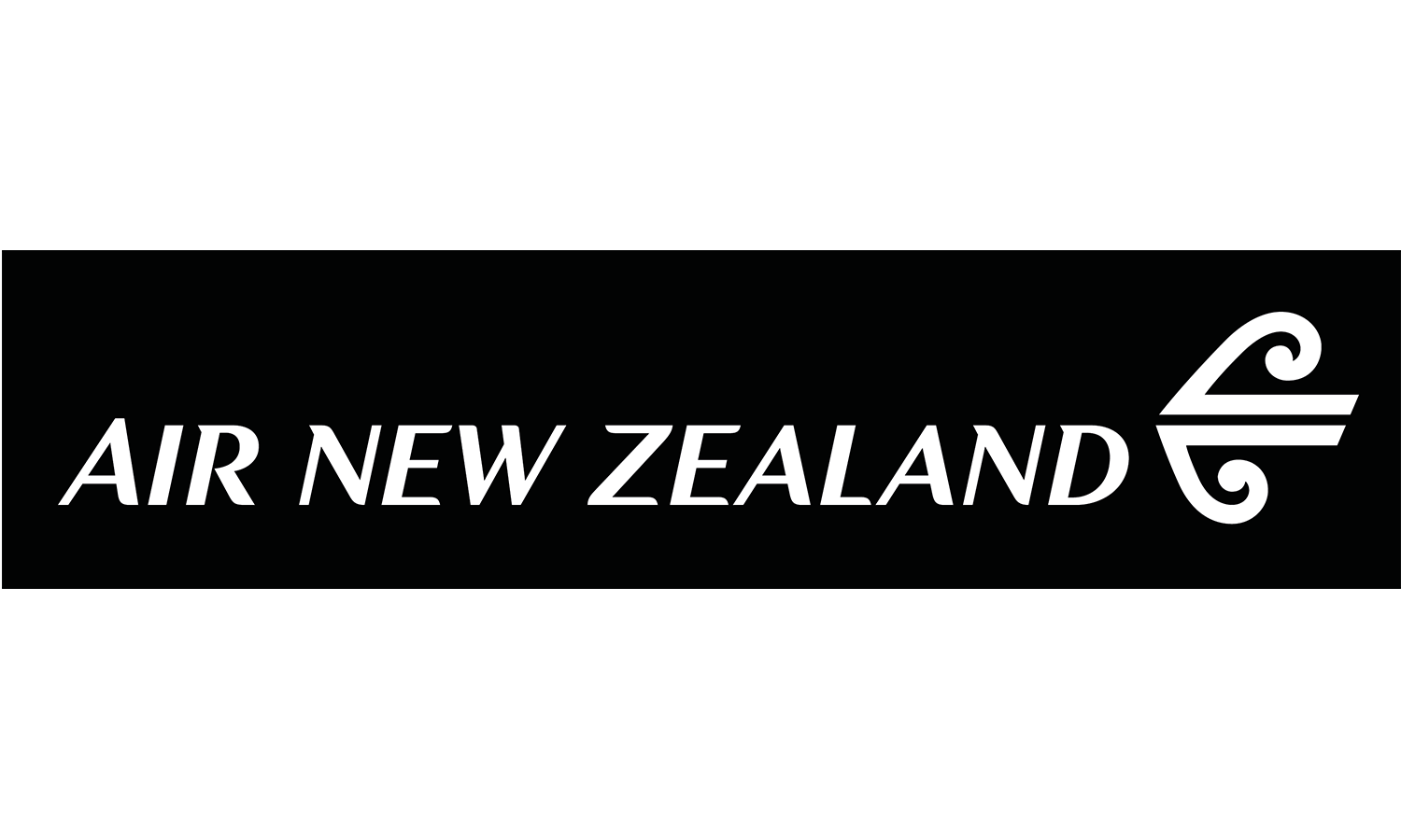 Air New Zealand Logo Black