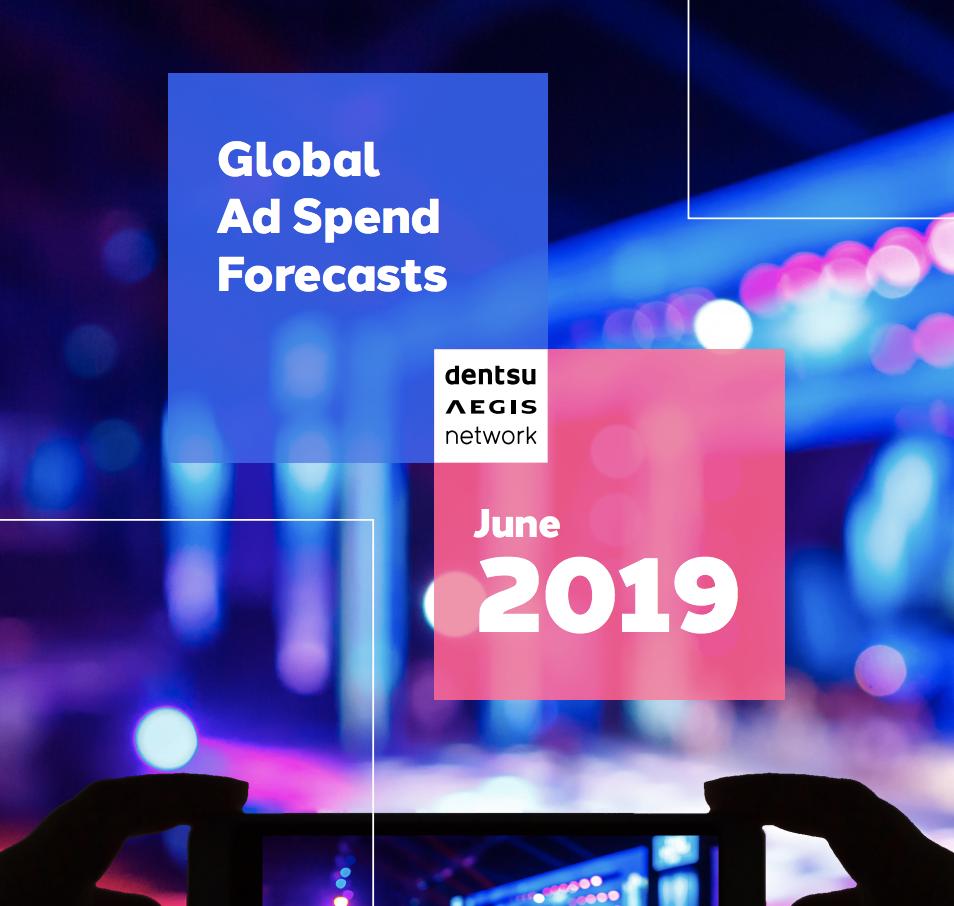 Ad Spend Report June 2019