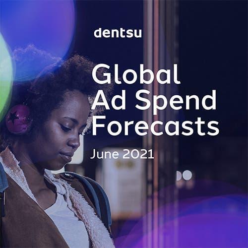 Globális reklámköltési előrejelzések: 2021. június