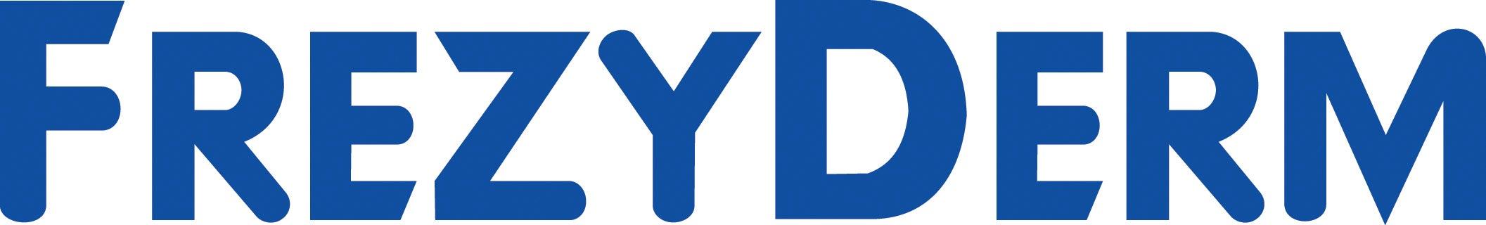 Frezyderm logo white
